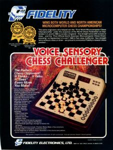 Fidelity Voice Sensory Chess Challenger!