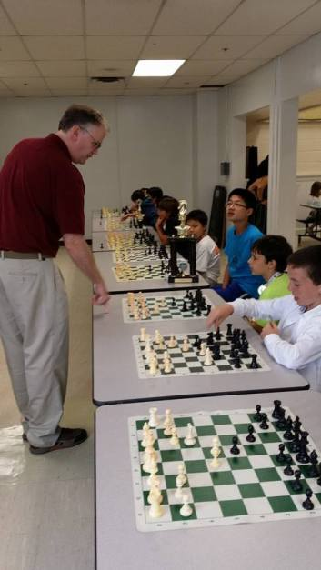 Simul at Louise Archer Elementary. Last day of class. June 9, 2014.